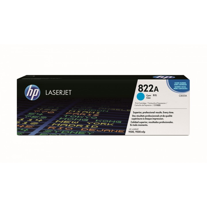 Hewlett Packard HP C8551A №822A