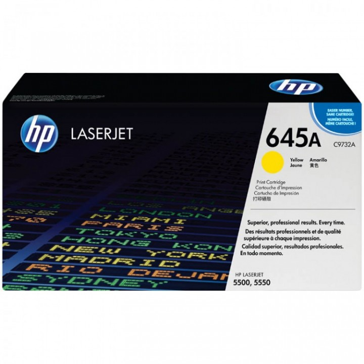 Hewlett Packard HP C9732A №645A