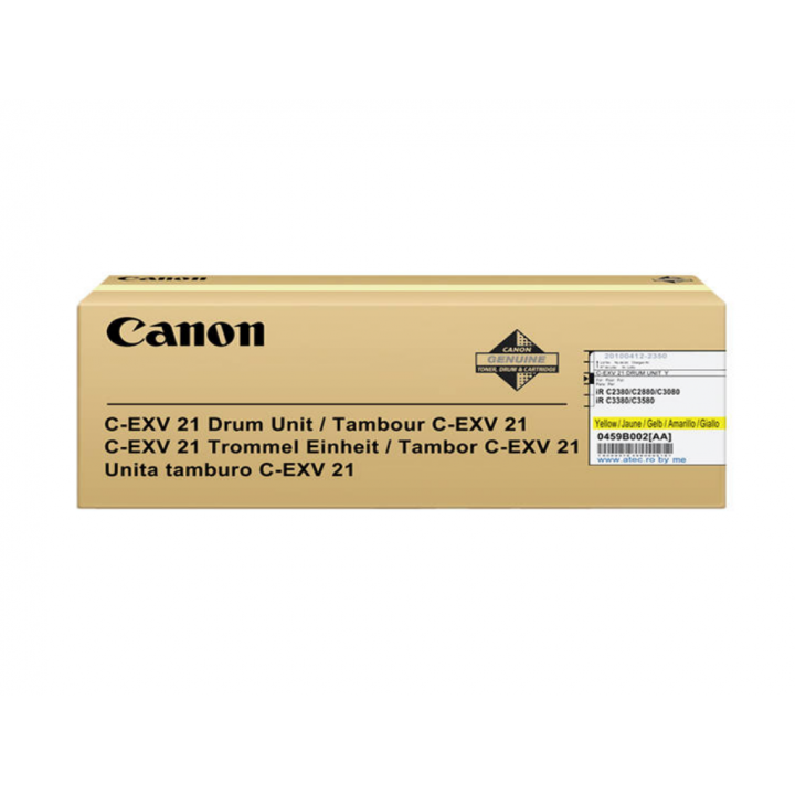 Canon C-EXV21 Drum Yellow