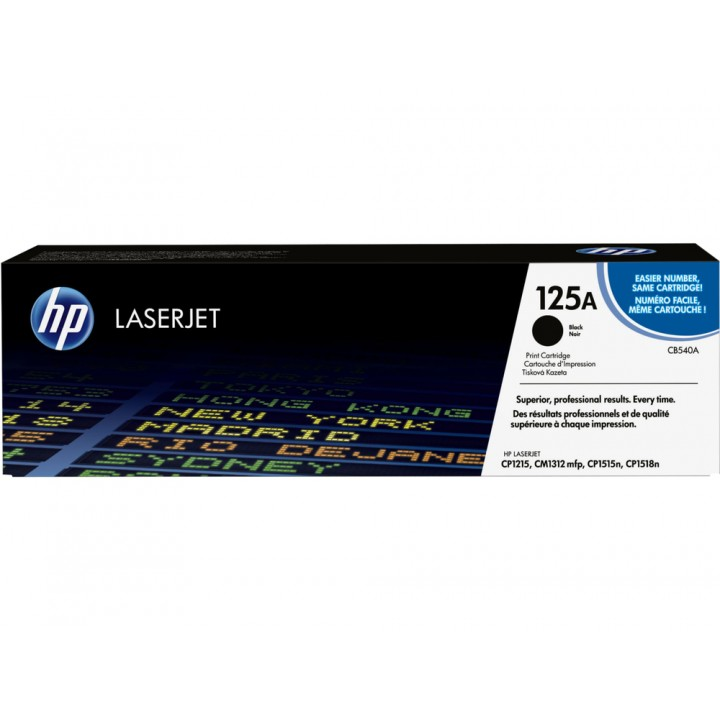 Hewlett Packard HP CB540A №125A