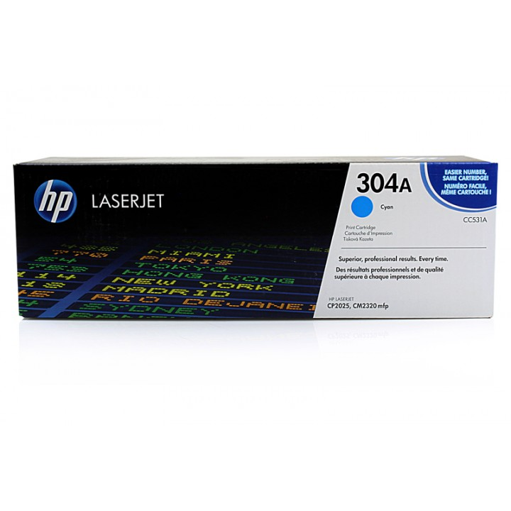 Hewlett Packard HP CC531A №304A