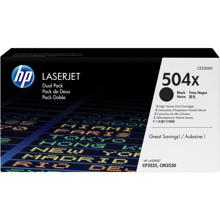 Hewlett Packard HP CE250XD №504X