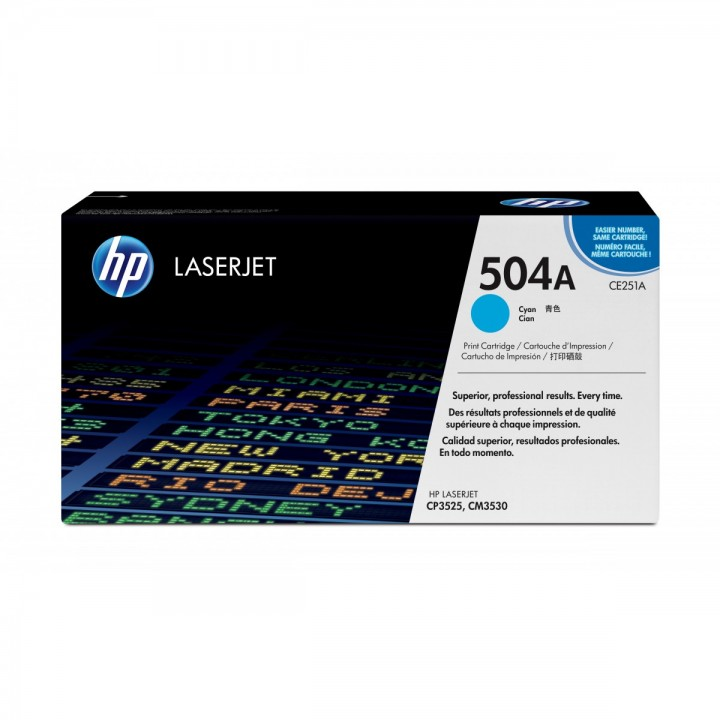 Hewlett Packard HP CE251A №504A
