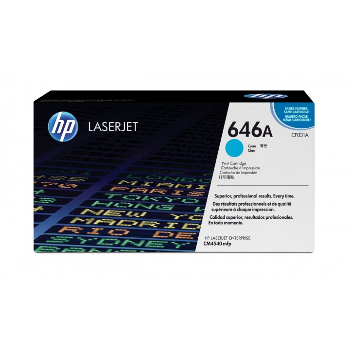 Hewlett Packard HP CF031A №646A