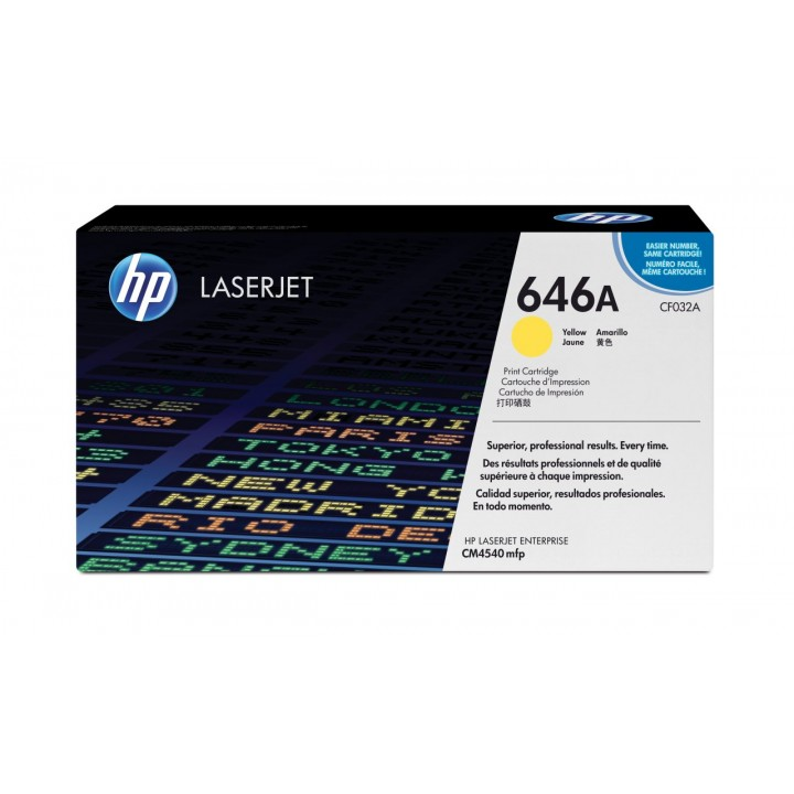 Hewlett Packard HP CF032A №646A