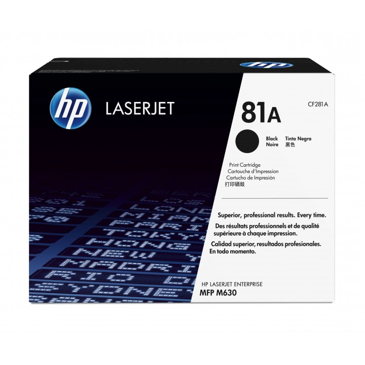 Hewlett Packard HP CF281A №81A