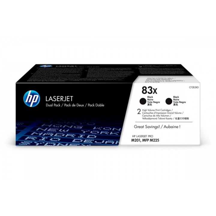 Hewlett Packard HP CF283XF №83X