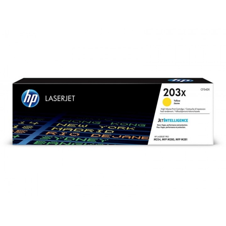 Hewlett Packard HP CF542A №203A