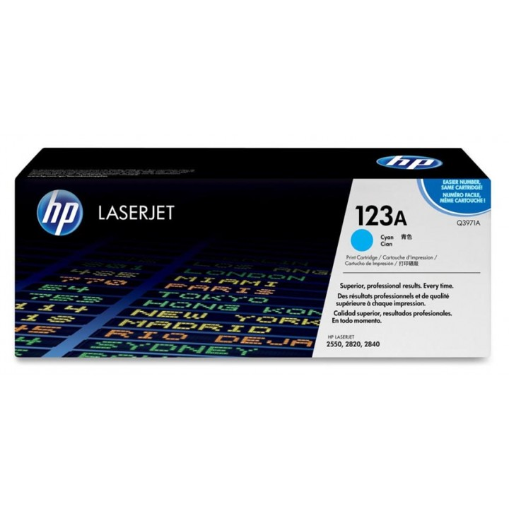 Hewlett Packard HP Q3971A №123A