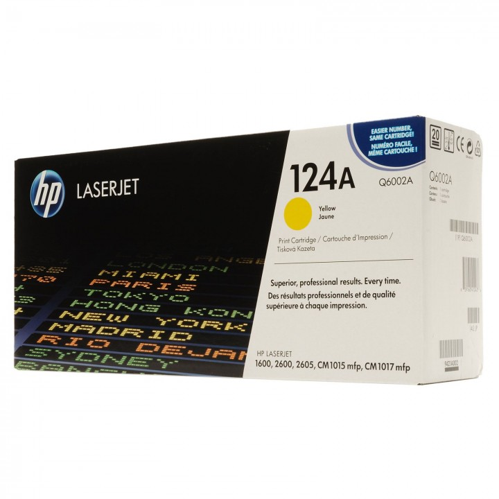 Hewlett Packard HP Q6002A №124A