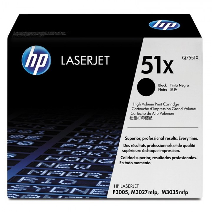 Hewlett Packard HP Q7551X №51X